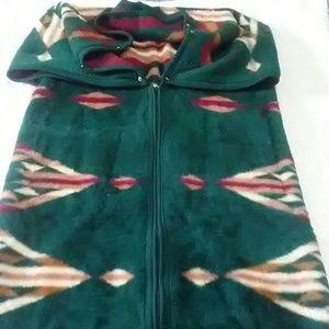biederlack fleece wearable wrap